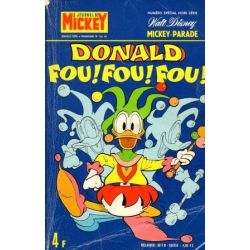 Mickey Parade 1182 bis - Donald fou fou fou - Hors série hebdomadaire