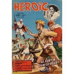 Heroïc 115 - Le fortin dans le désert - 1ere série