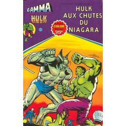 Hulk Gamma 4 - Hulk aux chutes du Niagara
