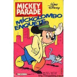 Mickey Parade (2nde série) 87 - Mickolombo enquête