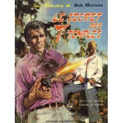 Bob Morane 9 - Le secret des 7 temples - Dargaud