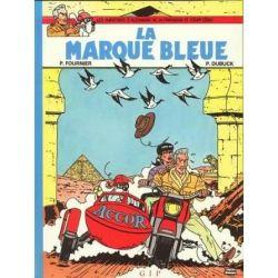 Alexandre de la Mareneuve et d'Evry Cédex (Les aventures d'...) N° 1 - La marque bleue