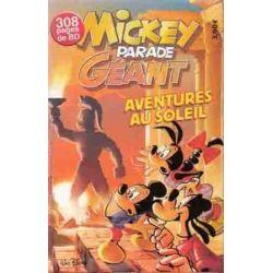 Mickey Parade (2nde série) Géant 292 - Aventures au soleil