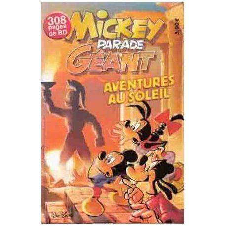 Mickey Parade Géant 292 - Aventures au soleil