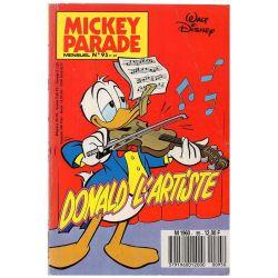 Mickey Parade (2nde série) 95 - Donald l'artiste