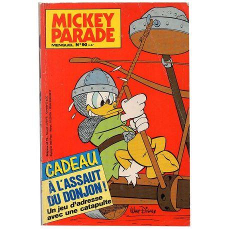 Mickey Parade (2nde série) 90 - A l'assaut du donjon