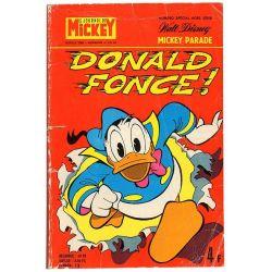Mickey Parade (1ère série) 1234 bis - Donald fonce !
