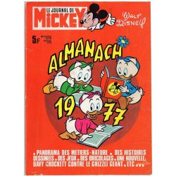 Almanach du Journal de Mickey 1977