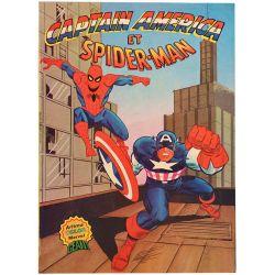 Captain America et Spider-Man