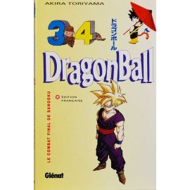 Dragon Ball (Album double) 34 Réédition - Le combat final de Sangoku