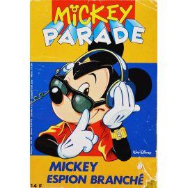 Mickey Parade (2nde série) 142 - Mickey espion branché