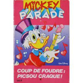 Mickey Parade (2nde série) 141 - Coup de foudre, Picsou craque