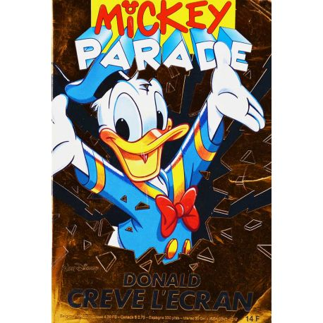 Mickey Parade (2nde série) 156 - Donald crève l'écran