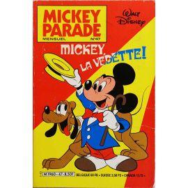Mickey Parade (2nde série) 47 - Mickey la vedette !