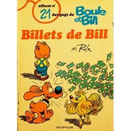 Boule et Bill 21 - Billets de Bill