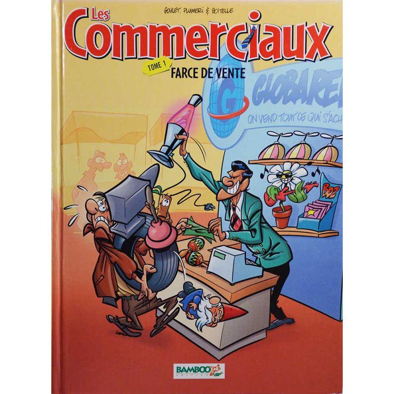 Album les commerciaux 1 farce de vente bamboo 2004 for Farcical etymology