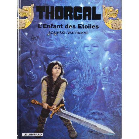 Thorgal 7 réédition, bon état - L'enfant des étoiles