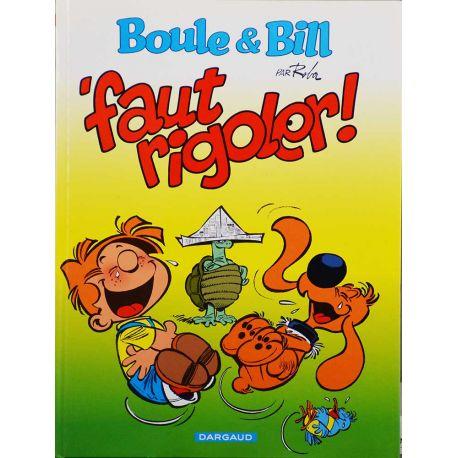 Boule et Bill 23 - édition spéciale Citroen - 'Faut rigoler