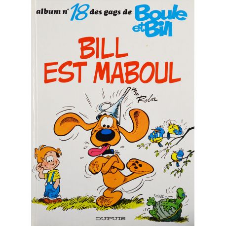 Boule et Bill 18 réédition - Bill est maboul