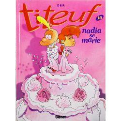 Titeuf 10 réédition - Nadia se marie