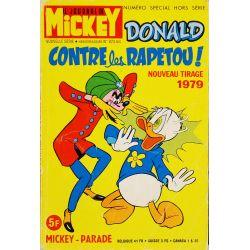 Mickey Parade (1ère série) 11 (873 bis) - Donald contre les Rapetou !