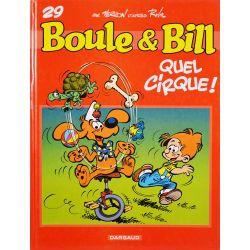 Boule et Bill 29 (EO TBE) Quel cirque !