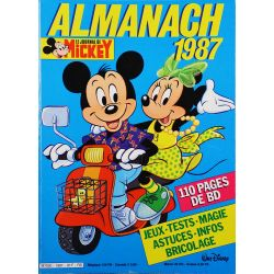 Almanach du Journal de Mickey 1987