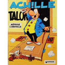 Achille Talon 8 réédition - Achille Talon méprise l'obstacle !