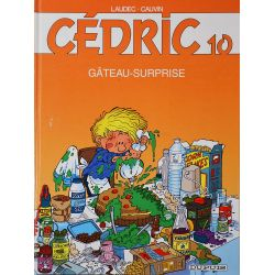 10 - Cédric 10 - édition spéciale Shell - Gâteau-surprise
