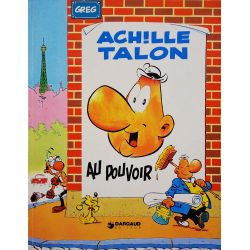 Achille Talon 6 réédition - Achille Talon au pouvoir