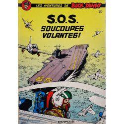 Buck Danny 20 réédition - S.O.S. soucoupes volantes