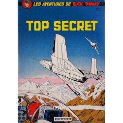 Buck Danny 22 réédition - Top secret