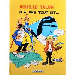 Achille Talon 36 (réédition) - Achille Talon n'a pas tout dit
