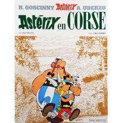 Astérix 20 réédition - Astérix en Corse