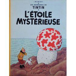 Tintin 10 réédition 1975 - L'étoile mystérieuse