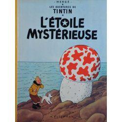 Tintin 10 réédition 1981 - L'étoile mystérieuse